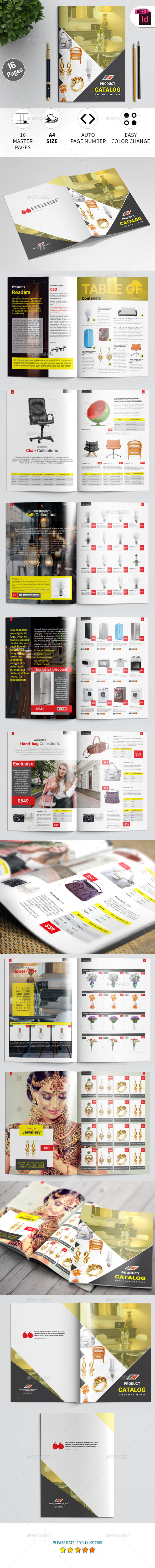 Product Catalog Template - Catalogs Brochures