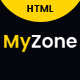 Myzone - Personal Portfolio Template - ThemeForest Item for Sale