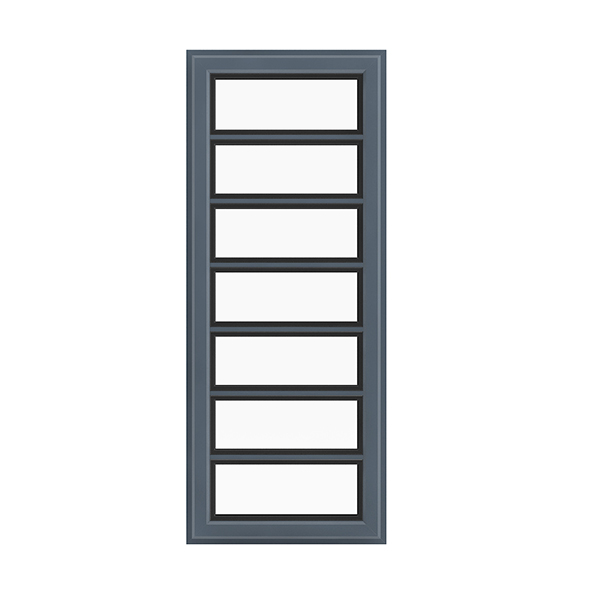 Metal Window (268 x 68 cm) - 3DOcean Item for Sale