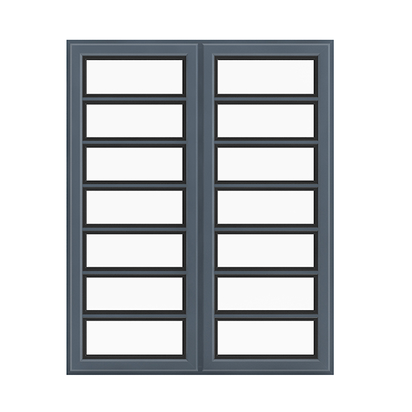 Metal Window (268 x 134 cm) - 3DOcean Item for Sale