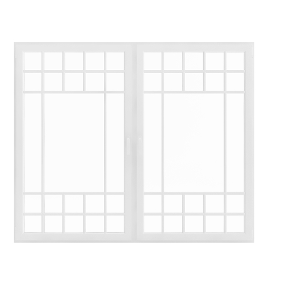 3DOcean White Window 154.5 x 185 cm 20623198