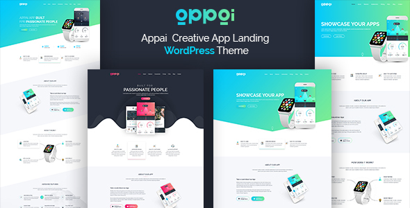 ThemeForest Appai App Landing WordPress Theme 20623819