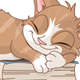 Sleeping Cat - GraphicRiver Item for Sale