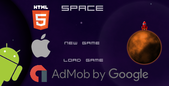 Space - HTML5 Game (CAPX) - CodeCanyon Item for Sale