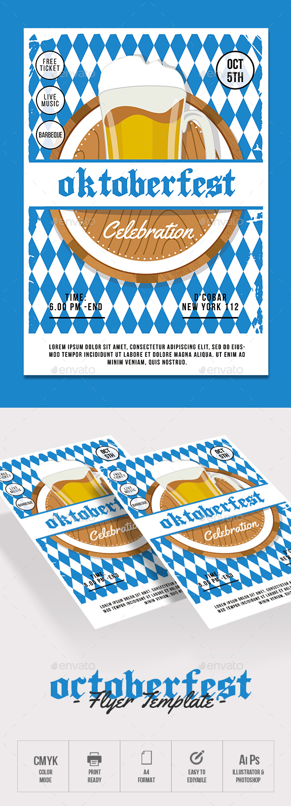 Oktoberfest - Events Flyers