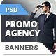 Promo Agency Banners - GraphicRiver Item for Sale