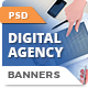 Digital Agency Banners - GraphicRiver Item for Sale