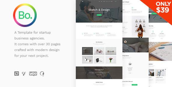 BoTheme - Startup Business WordPress Theme - Business Corporate