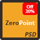 ZeroPoint - One Page Multipurpose PSD Template - ThemeForest Item for Sale