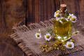 Chamomile oil aromatherapy