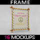 Bamboo Frame MockUp - GraphicRiver Item for Sale