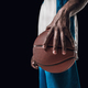The portrait of a basketball player with ball - PhotoDune Item for Sale