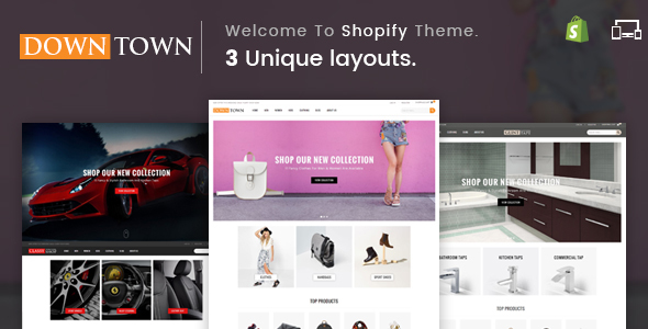Image of Down Town - Sectioned Multipurpose Shopify Theme