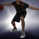 Full length portrait of a basketball player with ball - PhotoDune Item for Sale