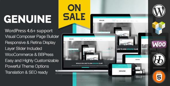Genuine - Creative Responsive WordPress Theme - Miscellaneous eCommerce
