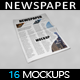 Newspaper MockUp - GraphicRiver Item for Sale
