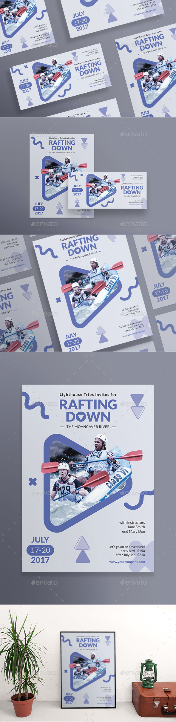 Rafting Flyers - Sports Events