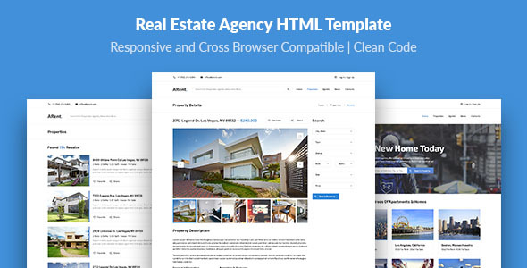 ARent — Real Estate Agency HTML Template - Business Corporate
