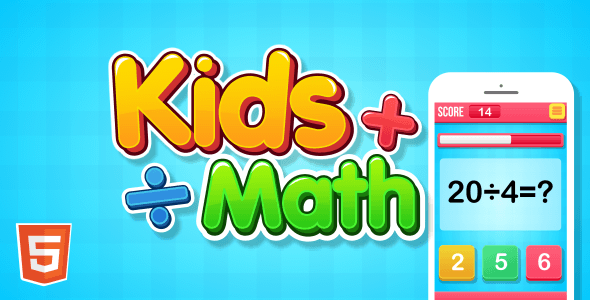 CodeCanyon Kids Math HTML5 Game 20625188