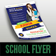 Junior School Education Flyer - GraphicRiver Item for Sale