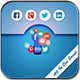 All In One Social App ( App with Ad mob & App hub Integration )