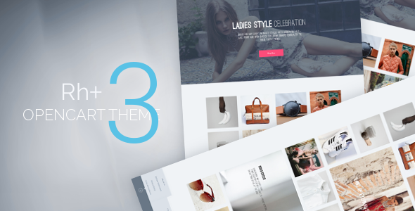 Rhplus - OpenCart 3 Theme - Fashion OpenCart