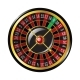 Casino Roulette - Modern Vector Isolated Clip Art