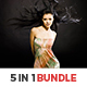 5 In 1 Lightroom Presets Bundle - GraphicRiver Item for Sale