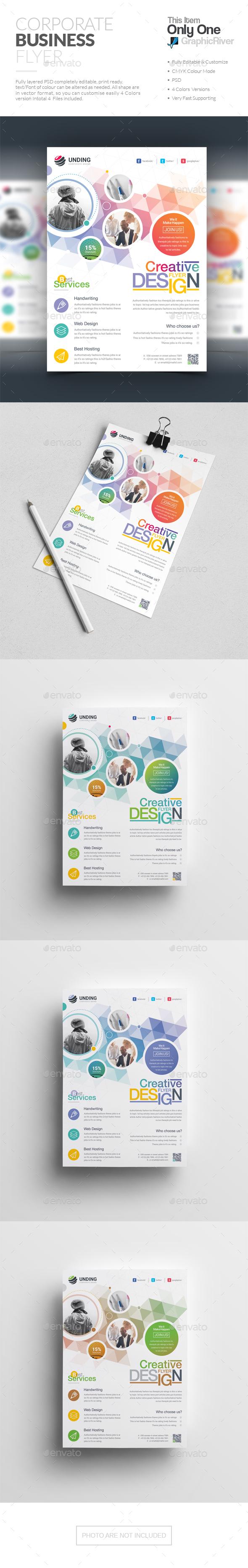 GraphicRiver Flyer 20625548