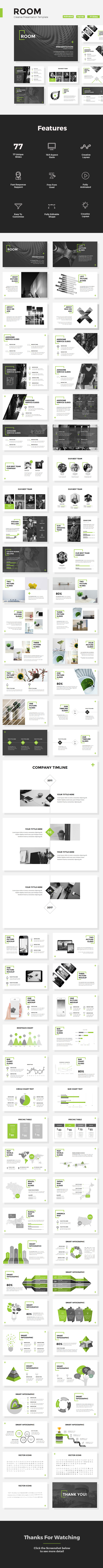 Room - Creative Powerpoint Template - Creative PowerPoint Templates