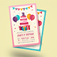 Colorful Birthday Invitation - GraphicRiver Item for Sale