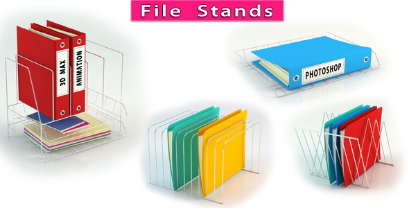 3DOcean File Stand 20625985