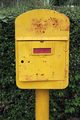 Old yellow mailbox - PhotoDune Item for Sale