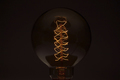 Close up vintage glowing light bulb - PhotoDune Item for Sale