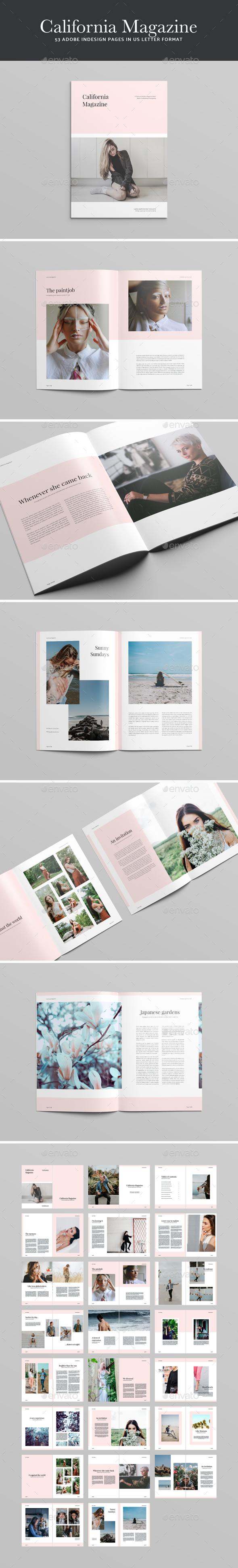 California Magazine - Magazines Print Templates