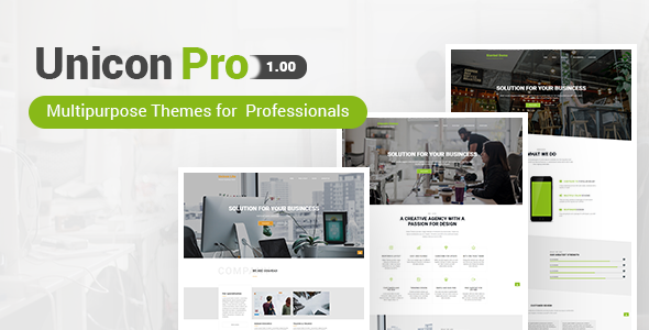 Unicon Pro | Responsive MultiPurpose WordPress Theme