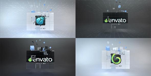 Corporate Cubes Logo Reveal