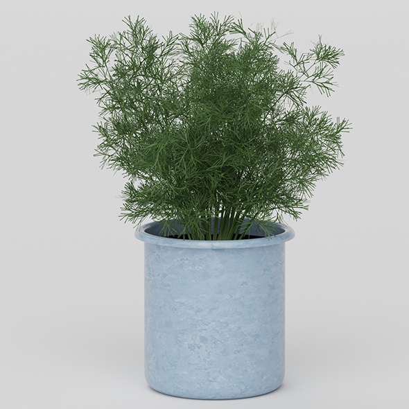 3DOcean Vray Ready Potted Plant 20626391