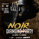 Party Template for Noir Diamond - GraphicRiver Item for Sale