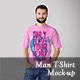 Man T-shirt Mock-ups vol. 1 - GraphicRiver Item for Sale