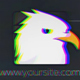 Glitch Logo 2 Version (Black-White version)