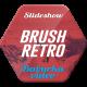Brush Retro Slideshow