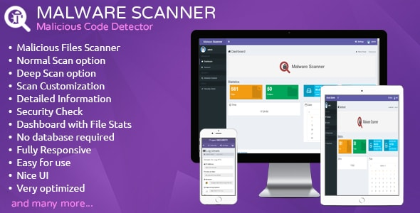 Malware Scanner - Malicious Code Detector - CodeCanyon Item for Sale