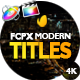 Modern Promo Titles Pack for FCPX - VideoHive Item for Sale