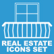 Real estate icons set - VideoHive Item for Sale