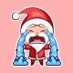 Sticker Emoji Emoticon, Emotion Sob, Cry, Weep
