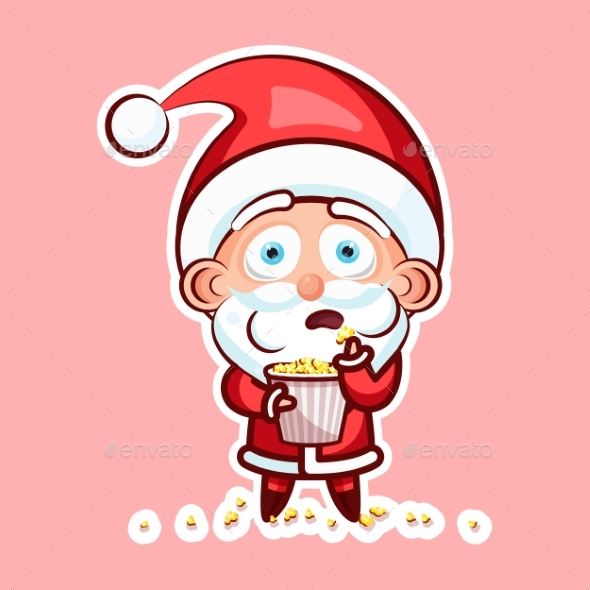 Sticker Emoji Emoticon Emotion, Scream with Rage - Christmas Seasons/Holidays