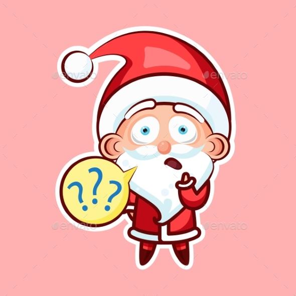 Sticker Emoji Emoticon, Emotion What - Christmas Seasons/Holidays
