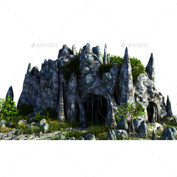 Cave - Architecture 3D Renders