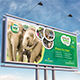 Wildlife Safari Billboard Template